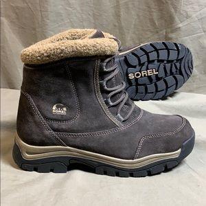 Sorel Women's Waterfall Low Lace Winter Boots